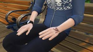 mod the sims mark of the outsider dishonored tattoo