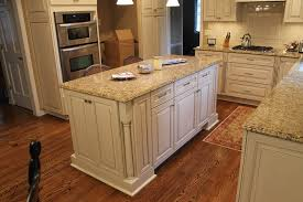 Kitchen Cabinets With Granite Countertops New Venetian Gold Granite Countertops Kitchen Traditional With