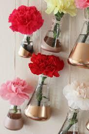 Copper Flower Vase Diy Copper Hanging Bud Vases Homemadebanana