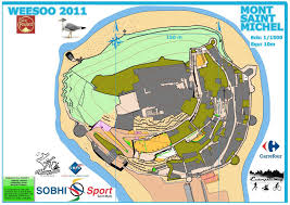 Saint Malo France Map by Orienteering Maps In France