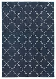 10 X12 Area Rug Eastwood Lattice Navy And Ivory Area Rug Midcentury Area Rugs