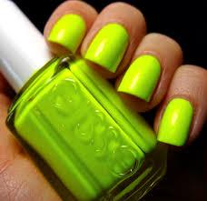 hayku a neon nail polish bright green nail colors nails