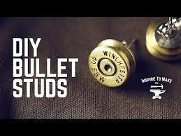 bullet stud earrings diy project bullet studs