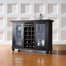 Bar Storage Cabinet Three Posts Shady Dale Bar Cabinet With Wine Storage U0026 Reviews