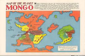 Map Of Al A Map Of Flash Gordon U0027s Planet Mongo Big Think