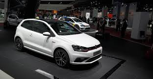 volkswagen polo black modified new gti version of the vw polo with 2015 model year update