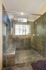 Windows In Bathroom Showers 40 Master Bathroom Window Ideas