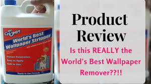 product review world u0027s best wallpaper removal youtube