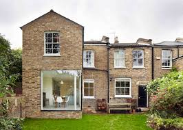 modern extensions cousins and cousins add glass and brick extension to a london home