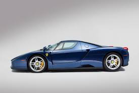 blue enzo blue enzo a 2 4 million bargain at auction