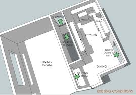 Narrow Living Room And Kitchen Thrasher Works Blog Thrasher Works