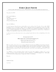cover letter professional sample cover letter sample professional