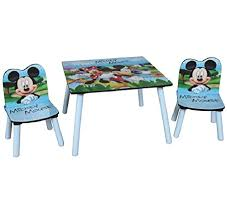 mickey mouse kids table disney mickey mouse wooden childrens table two chairs set kids