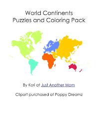 world map coloring page 05 and continents coloring page eson me