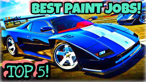 top 5 best paint jobs for the new turismo classic gta 5 online
