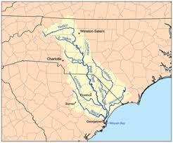 map usa rivers yadkin river