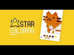 star coloring color by number pixel art android apps on