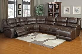 Leather Sectional Sofa Sleeper Living Room Great Sectional Sofas With Recliners Leather And