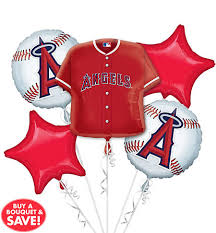 balloon arrangements los angeles los angeles balloon bouquet 5pc jersey party city canada