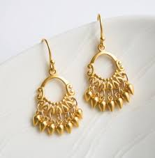 gold chandelier earrings gold chandelier earrings gold jewelry bohemian earrings gold