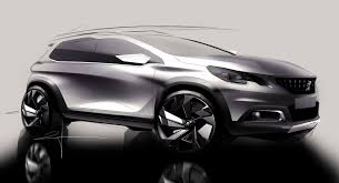 latest peugeot cars peugeot unveils restyled 2008 car body design cardesign