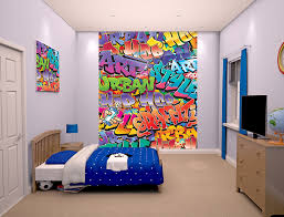 Graffiti Bedroom Wall - Graffiti bedroom