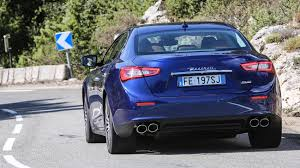 maserati ghibli blue maserati ghibli diesel 2016 review by car magazine