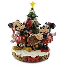 medium figure minnie and mickey mouse tree farm
