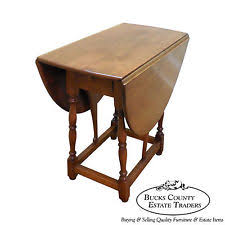 Cherry Drop Leaf Table American Cherry Traditional Antique Tables Ebay