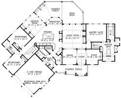 lodge house plans with open floor plans homepeek