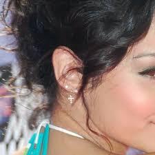 second ear piercing earrings hudgens piercings jewelry style