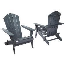 Adirondack Home Decor Plastic Adirondack Chairs Are Ergonomic Tcg