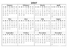 2017 calendar templates 2017 monthly yearly templates