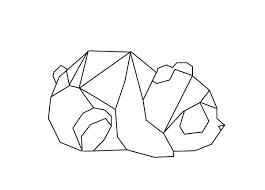tattoo geometric outline 46 best outlines images on pinterest geometric animal tattoo