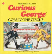 curious george circus margret rey