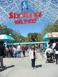 Six Flags Speed Pass I U0027m At The Entrance Of Six Flags Magic Mountain By Magic Kristina