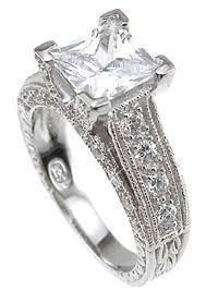 cheap princess cut engagement rings sterling silver cubic zirconia cz princess cut