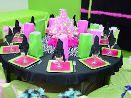 Unique Party Purple And Green Party Decor Truly Unique Party For Your Little