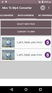 convert mov to mp4 android mov to mp4 converter android apps on play