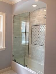 heavy glass shower door slider american mirror u0026 glass