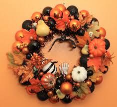 Halloween Wreath Decorations by Kate Makes Three Spooktacular Halloween Wreaths Retro Renovation