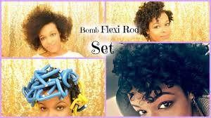 flexi rod stretch long 4b c hair flexi rod set on short stretched natural hair fine 4a hair