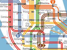 map of ny subway visualcomplexity nyc subway map redesign