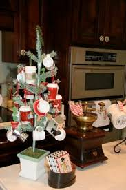glass ornaments filled with popcorn touch