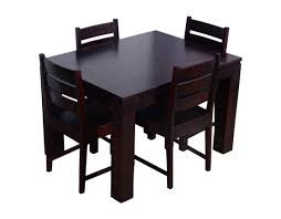 dining table set 4 seater altavista mirth 4 seater dining table set mahogany finish