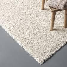 tapis boule feutre tapis beige shaggy lizzy l 60 x l 115 cm leroy merlin