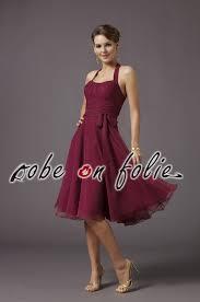 robe de cã rã monie pour mariage magnifique robe de cérémonie bordeaux en mousseline légère et jupe