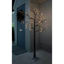artificial slim christmas trees gardens and landscapings