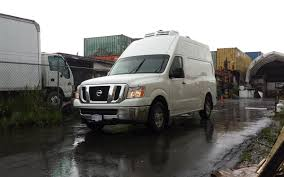 nissan cargo van vancouver nissan nv2500 var150 cold delivery cargo reefer van