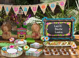 Games For Cocktail Parties - totally tiki luau party ideas party city
